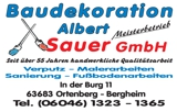 Baudekoration Albert Sauer